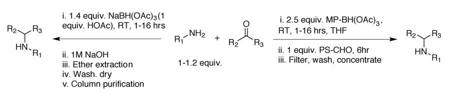 mp-triacetoxyborohydride-scheme1